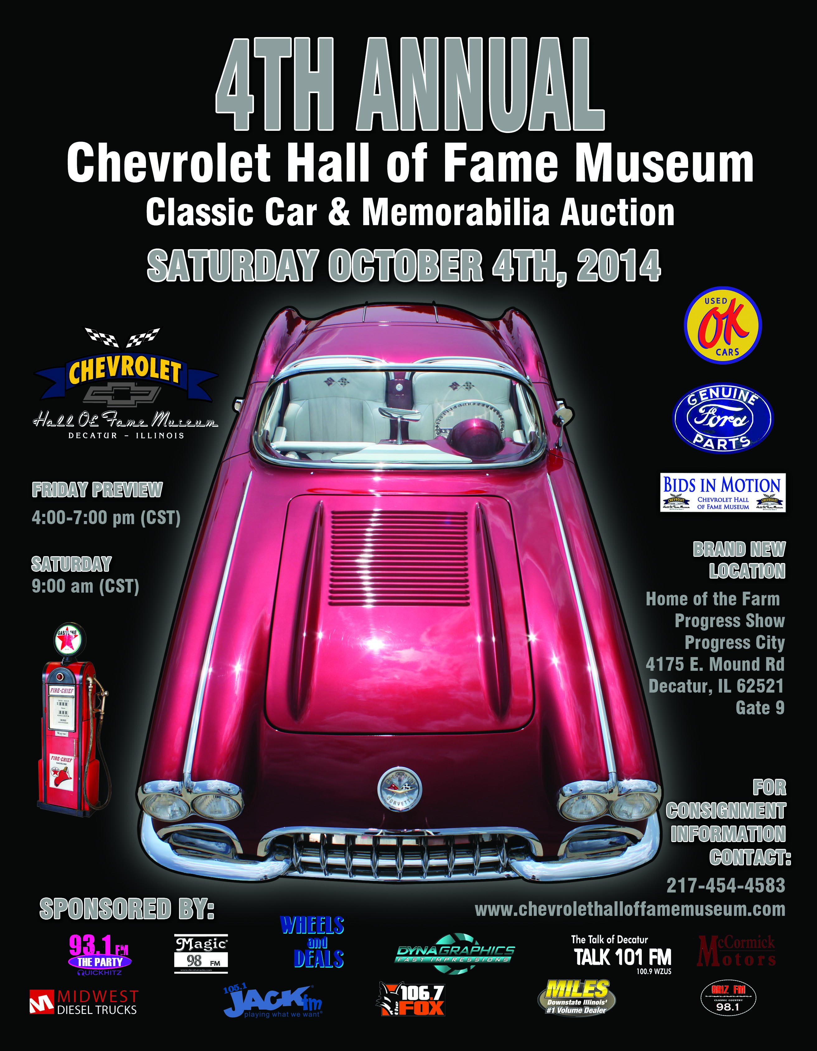 Chevrolet Hall of Fame Museum - Event Schedule